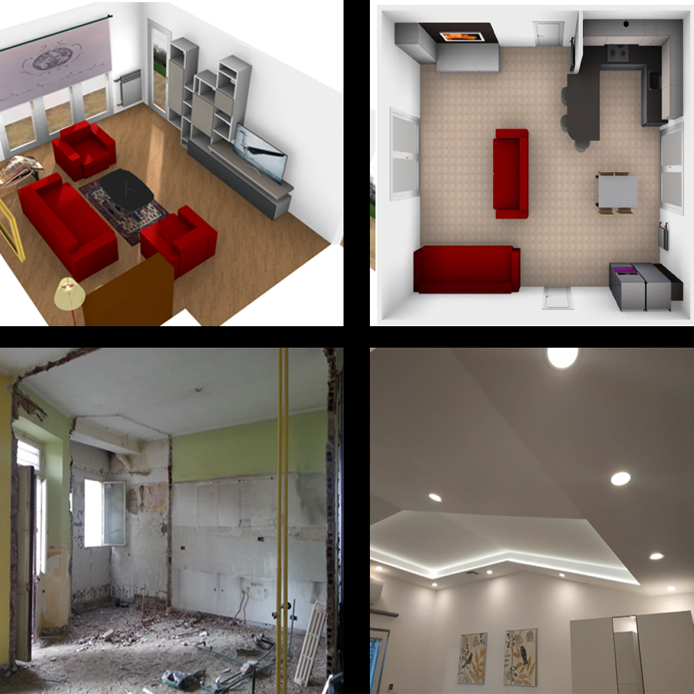 De Lorenzis Davide interior design designer Torino ristrutturazioni arredamenti cucine moderne camere da letto camerette divani falegnameria falegname